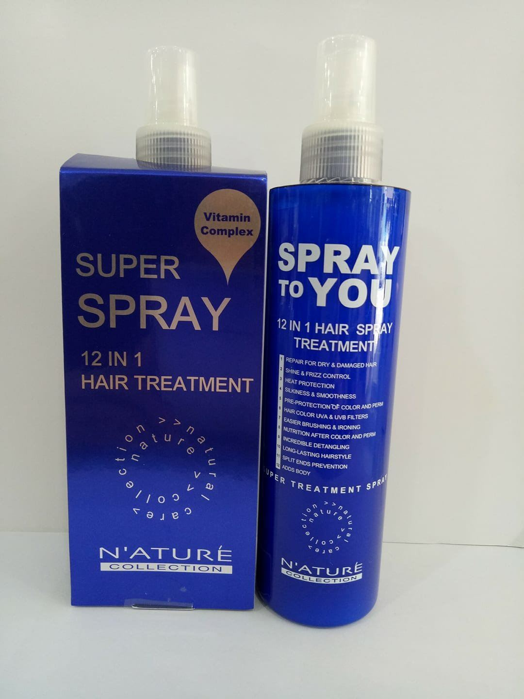 N'ATURE SUPERB SPRAY 12 IN 1 HAIR TREATMENT 250ML