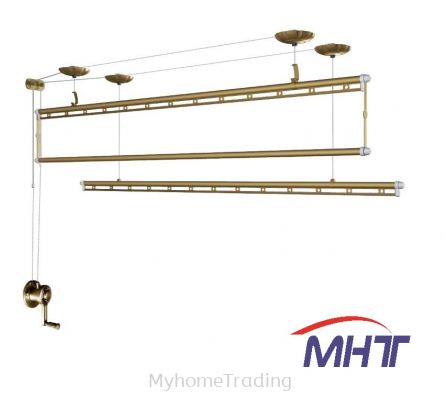 GW8899 Aluminium Lifting Ceiling Hanger Drying Bars