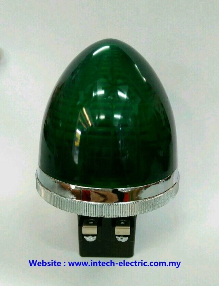 Ckc PLB-30 30mm Round Type Transformer Pilot Lamp 240vac(Green) Transformer Pilot Lamp Electric Panel Accessories