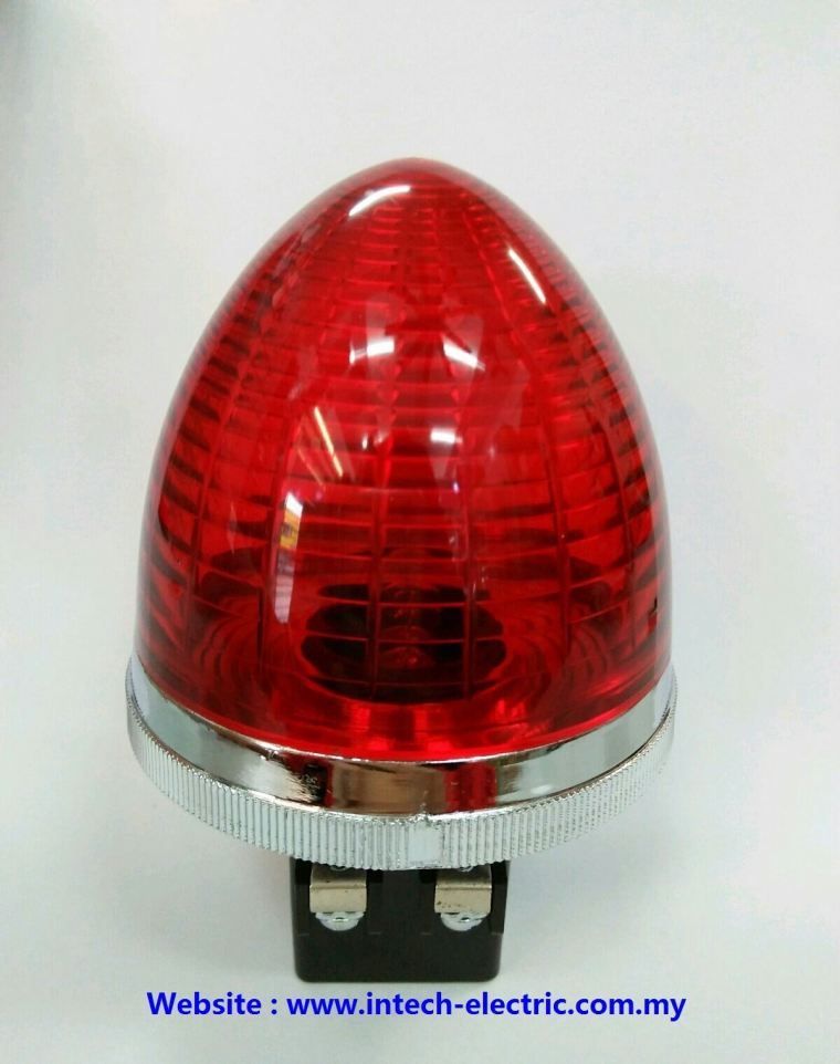 Ckc PLB-30 30mm Round Type Transformer Pilot Lamp 240vac(Red) Transformer Pilot Lamp Electric Panel Accessories