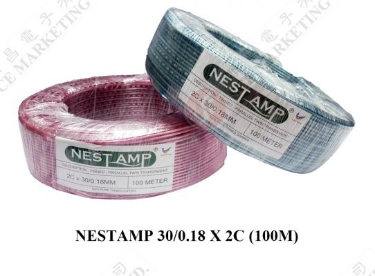 CABLE (100M) 30/0.18X2C (NEST AMP)