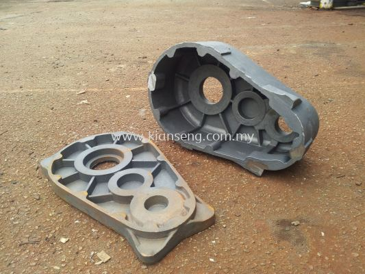 Iron casting sand compressor gear box