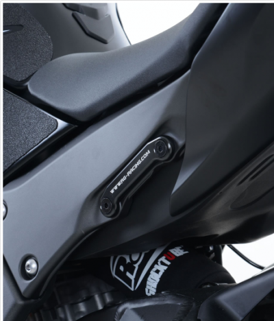 Rear Foot Rest Blanking Plates for Kawasaki ZX10R '11-