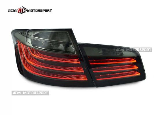 BMW F10 tail light smoke light bar