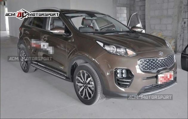 Kia sportage 2017 side step