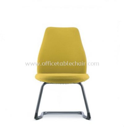 EVE VISITOR CHAIR WITH EPOXY CANTILEVER BASE AEV 6413F-E