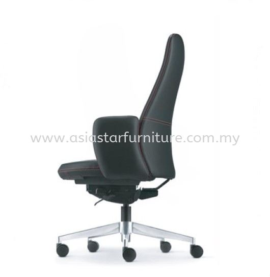 EVE PRESIDENTIAL MEDIUM BACK WITH ALUMINIUM BASE AND FIXED ARMREST ASEV  6411L-16A