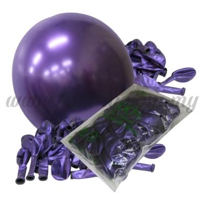 12inch Candy Balloons - Purple 50pcs   (B-CD12-635)