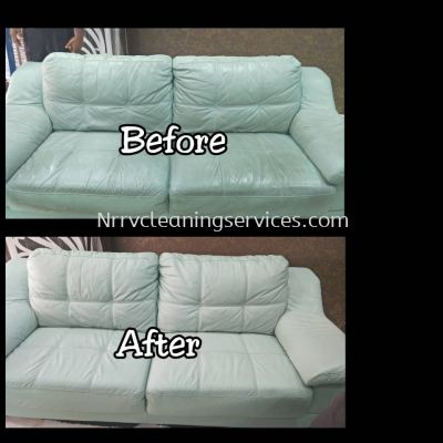 Upholstery leather Cleaning