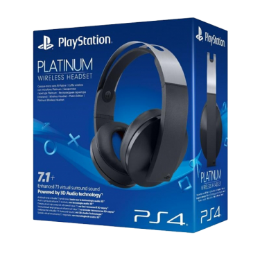 Official Sony Platinum Wireless Headset