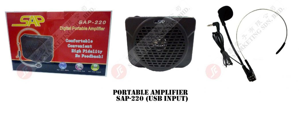 PORTABLE AMP SAP-220