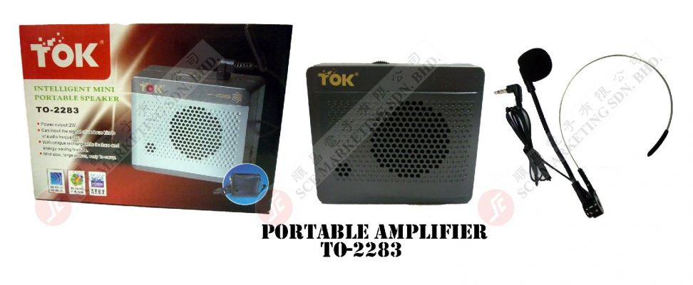 PORTABLE AMP TO-2283