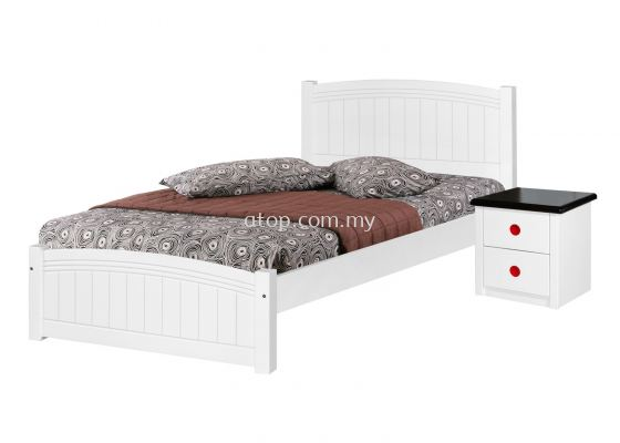 CS 1204 (WH) 3 ft Bed Frame