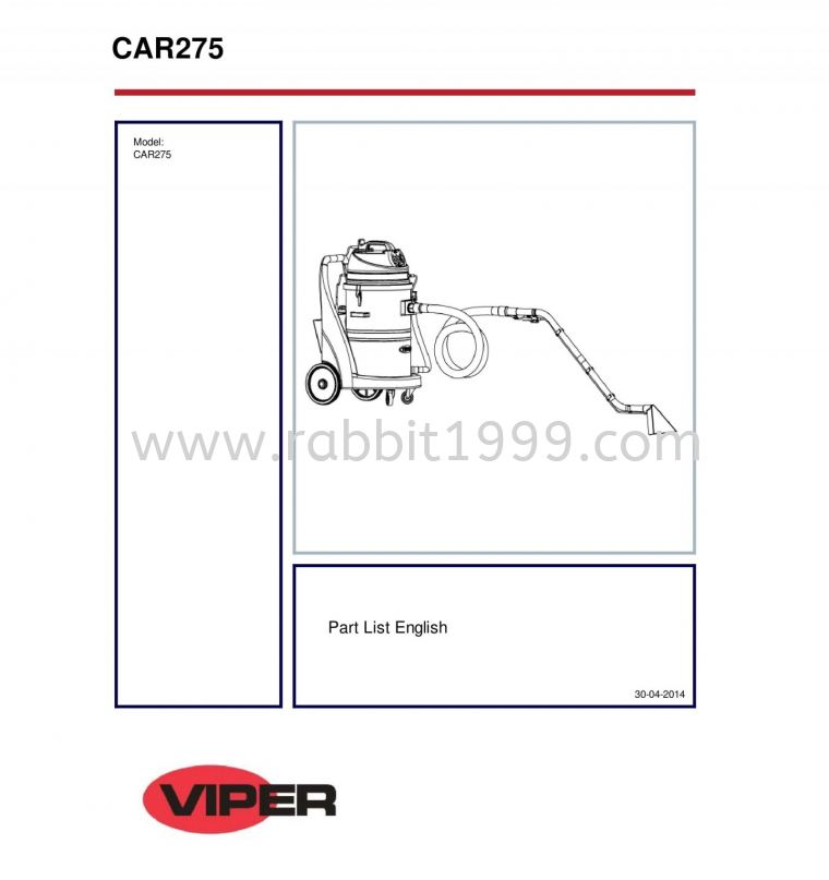 VIPER CAR275 PARTS VIPER CAR275 MACHINERY SPARE PARTS SPARE PART PRODUCTS