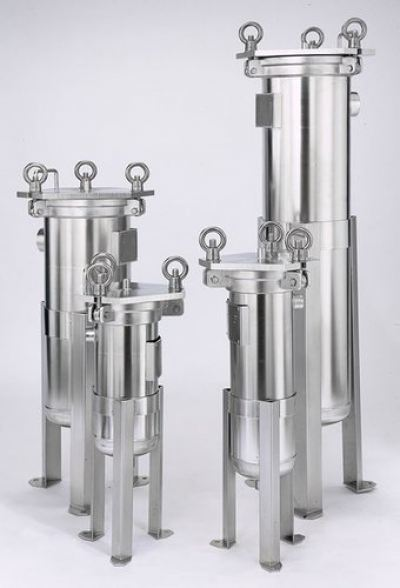 Stainless Steel Bag Filter Housing