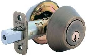 DOUBLE DEADBOLT LOCK AC