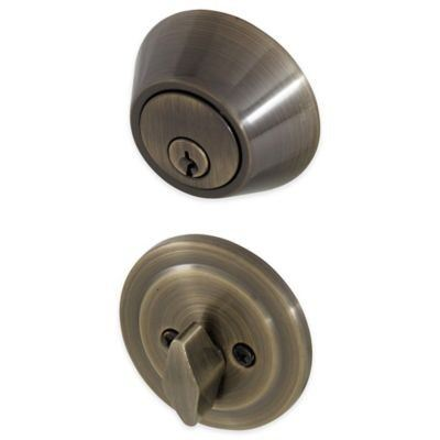 SINGLE DEADBOLT LOCK SS
