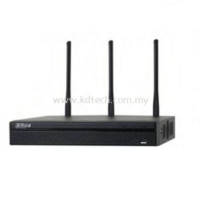 DH-DHI-NVR4104HS-W-S2 : 4 CHANNEL COMPACT 1U WIFI NETWORK VIDEO RECORDER