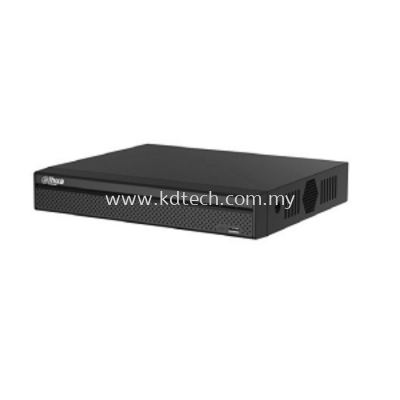 DH-DHI-NVR4104HS-P-4KS2 : 4 CHANNEL COMPACT 1U 4POE 4K & H.265 LITE NETWORK VIDEO RECORDER