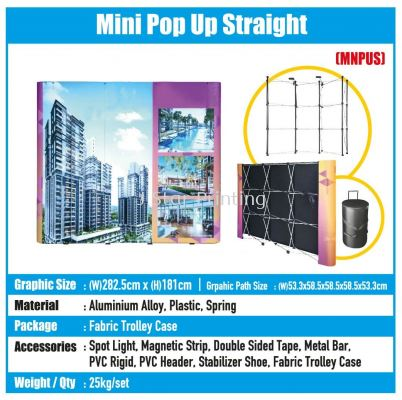 Mini Pop Up Straight - MNPUS