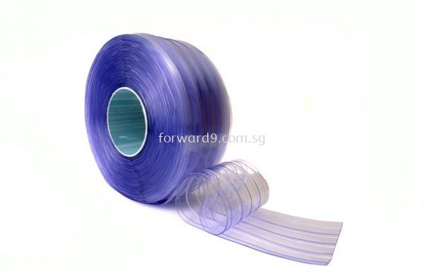 Ribbed PVC Curtain Strip