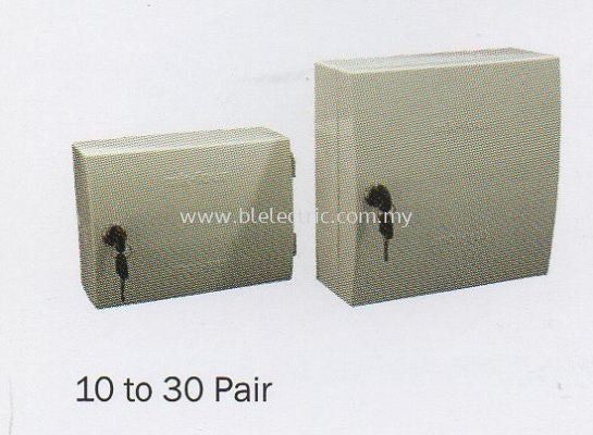 Plastic Tel Distribution Box 10 to 30 Pair