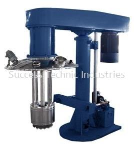 ML700-V20 50-400liter 15kW basket mill with 1.4kg zirconia bead(hydraulic lifting)