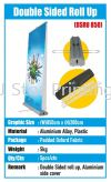 Double Sided Roll Up - DSRU 850 Roll Up Stand Model Banner Inkjet