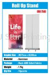 Roll Up Stand - RU 750 Roll Up Stand Model Banner Inkjet
