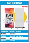Roll Up Stand - RU 800 Roll Up Stand Model Banner Inkjet