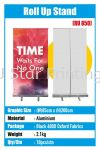 Roll Up Stand - RU 850 Roll Up Stand Model Banner Inkjet