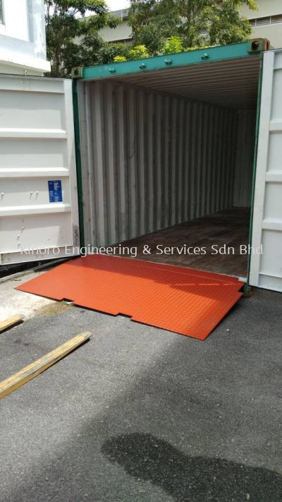 Container Ramp 4'X8'