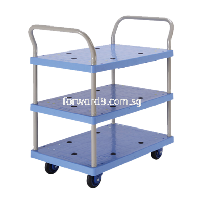 Prestar PB-105-P Triple Deck Dual-Handle Trolley