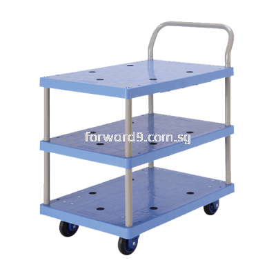 Prestar PB-115-P Triple Deck Single-Handle Trolley