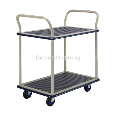 Prestar NB-104 Double Deck Dual-Handle Trolley