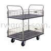 Prestar NF-327 Double Deck Side-Net Trolley Trolley Ladder / Trucks / Trolley Material Handling Equipment