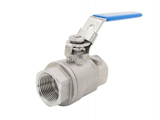 AUTOMA 2-Piece Stainless Steel Ball Valve