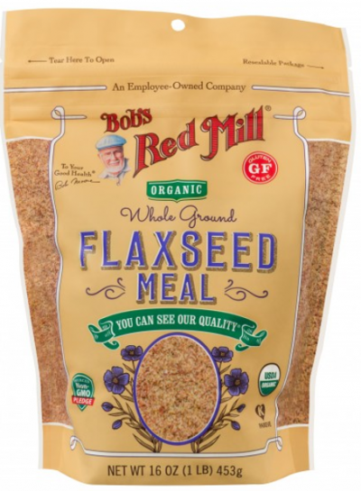 Organic Brown Flaxseed Meal