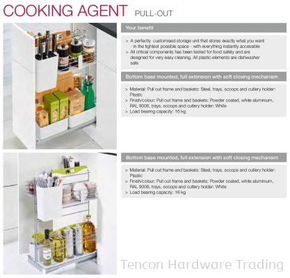 Cooking Agent Pull Out