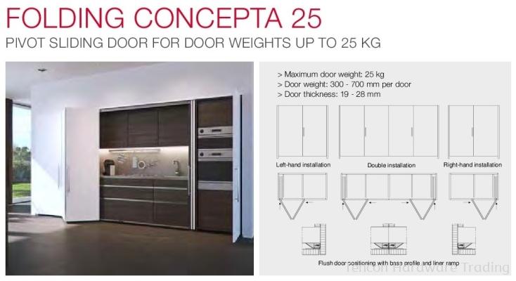 Folding Concepta 25
