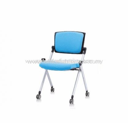 AEXIS FOLDING PADDING CHAIR C/W CASTOR & W/O ARMREST ACL 449