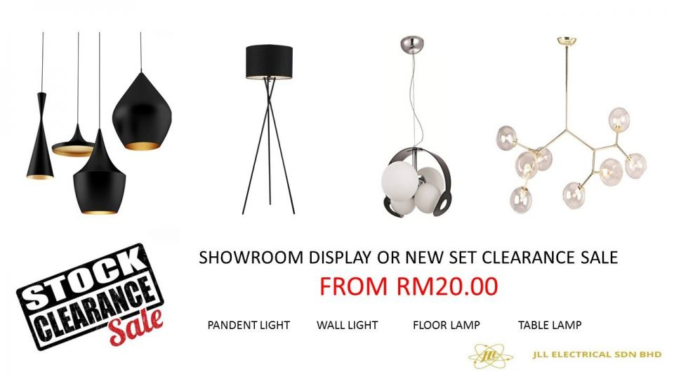 Showroom Stock Clearance Sale