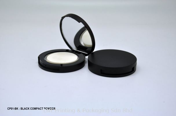 CP01-BK : BLACK COMPACT POWDER