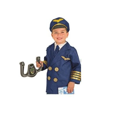 C2065 Captain Costume wt Accessories