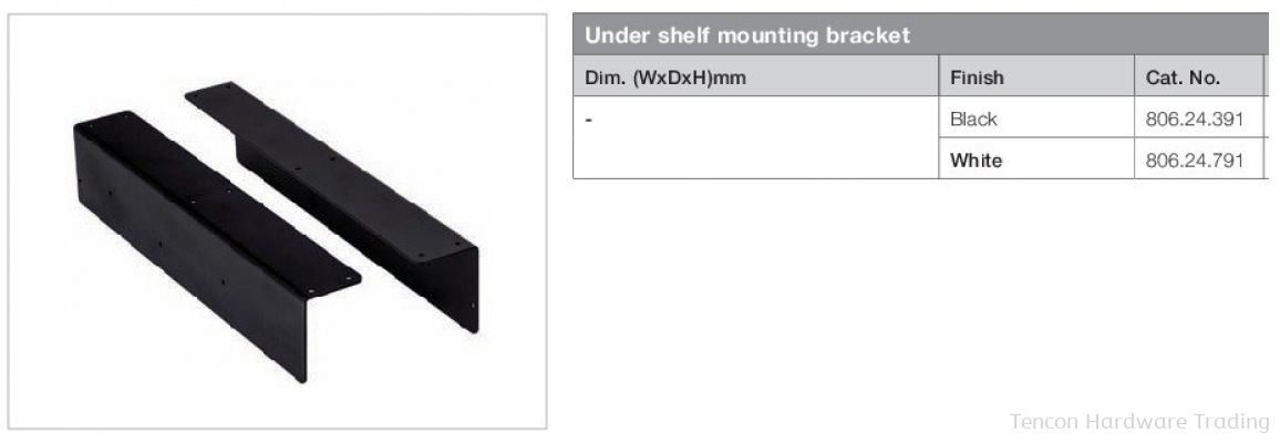 Under Shelf Mounting Bracket