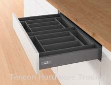 Interior Organisers for Drawers/ Internal Drawers, Range Summary Interior Organisers for Drawers Hettich