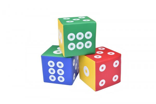 XYL61066 Dots Dice (3/set)