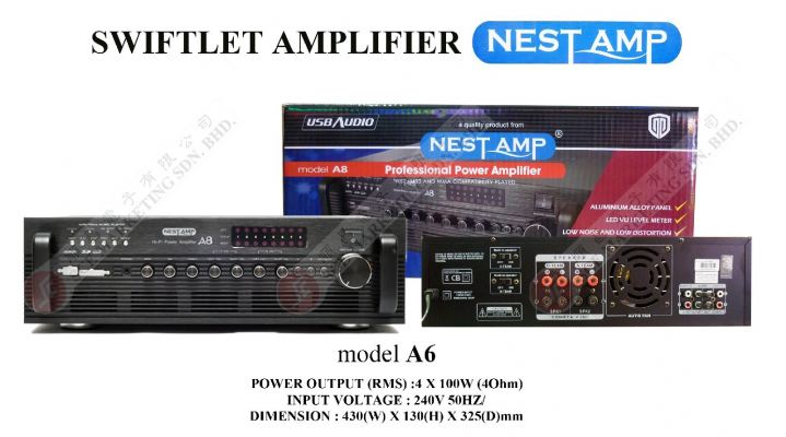 NESTAMP AMPLIFIER A8