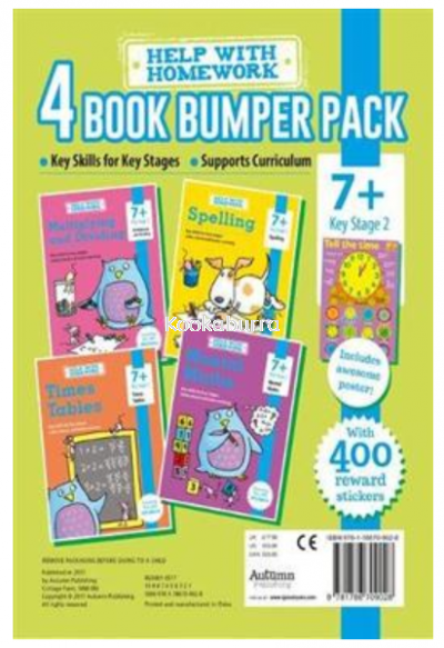 4 Book Bumper Pack (7+  Key Stage 2)