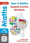 Collins Year 5 Maths Practice Workbook Reference Books Books